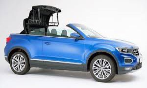Rent a Car in Rhodes New in! VW T-Roc Cabriolet Automatic