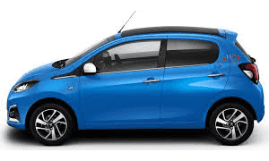 Rent a Car in Rhodes PEUGEOT 108 SOFT TOP