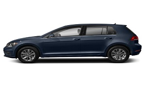 Rent a Car in Rhodes VW GOLF Automatic