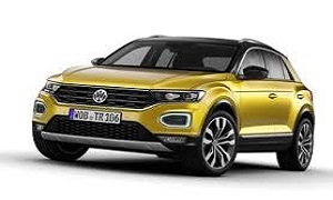 Rent a Car in Rhodes New in! VW T-ROC