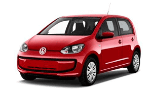Rent a Car in Rhodes VW UP TSI