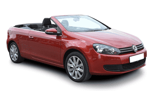 Rent a Car in Rhodes VW GOLF CABRIO