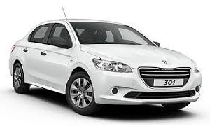 Rent a Car in Rhodes PEUGEOT 301 DIESEL