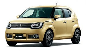 Rent a Car in Rhodes SUZUKI IGNIS