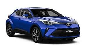Rent a Car in Rhodes TOYOTA C-HR 1.2