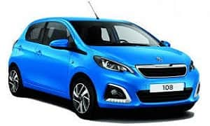 Rent a Car in Rhodes PEUGEOT 108 Automatic