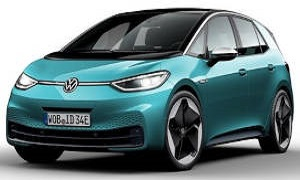 Rent a Car in Rhodes VW ID3 Electric