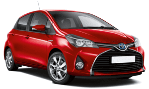 Rent a Car in Rhodes TOYOTA YARIS HYBRID