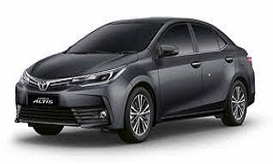 Rent a Car in Rhodes TOYOTA COROLLA diesel