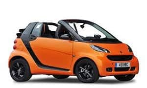 Rent a Car in Rhodes SMART FORTWO