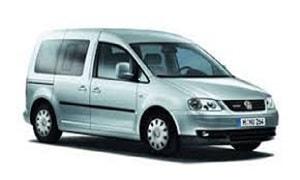 Rent a Car in Rhodes VW CADDY